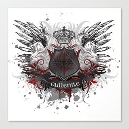 Cullenite Crest  Canvas Print