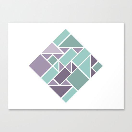 Shapes 006 Canvas Print