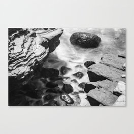 Blurred Water Canvas Print
