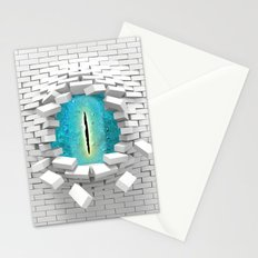 behind walls Stationery Cards
