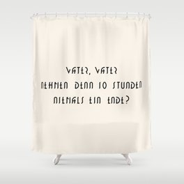 M E T R O P O L I S Shower Curtain