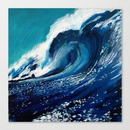 """Wave 2"" Canvas Print"