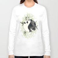 yin yang Long Sleeve T-shirts featuring Yin Yang by Sah Matsui