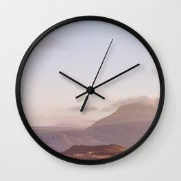 Fjord III Wall Clock