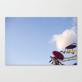 Cotton Candy Cloud Carnival  Canvas Print