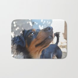 Chalie or Charly is one beatiful dog Bath Mat