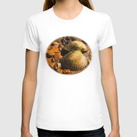 shells T-shirts featuring Shells by Wealie
