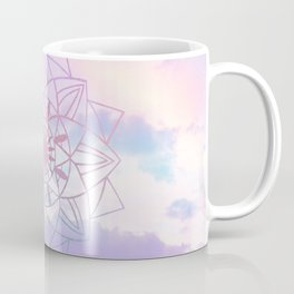 Star Mandala Unicorn Pastel Clouds #1 #decor #art #society6 Coffee Mug