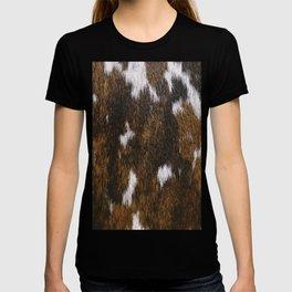 Rustic Cowhide Spots T-shirt