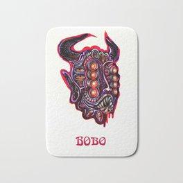 Masked Bobo Bath Mat