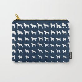 All Dogs (Navy) Carry-All Pouch