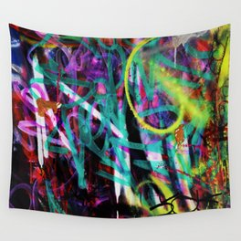 graffiti Wall Tapestry