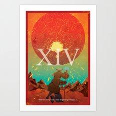 Vintage FF Poster XIV Art Print