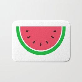 Watermelon Summer Design Bath Mat
