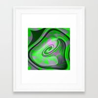 "malachite Framed Art Prints featuring "" Malachite ""  by shiva camille"