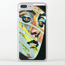 Rachel Understands ~ Swipped Clear iPhone Case