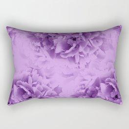 Purple Peonies Dream #1 #floral #decor #art #society6 Rectangular Pillow