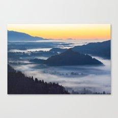 Sunset Valley #landscape #photography #society6 Canvas Print