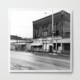 Ohio Ghost Town... Metal Print