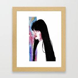 Maybe  Framed Art Print