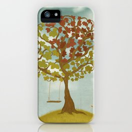 All Seasons Tree iPhone Case