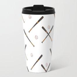 Baseball sport pattern Travel Mug