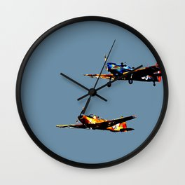 The Joy of Flight Wall Clock