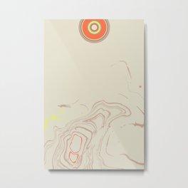 Re-Flection (Etude Circulaire n° 12) Metal Print