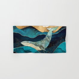Blue Whale Hand & Bath Towel