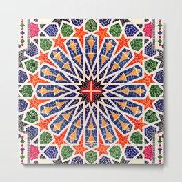 ARTERESTING V47 - Moroccan Traditional Design Metal Print