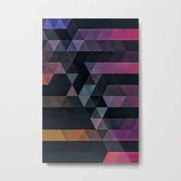 ypsyde dwwnsyde Metal Print