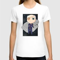 battlestar galactica T-shirts featuring Colonel Tigh 2 | Battlestar Galactica by The Minecrafteers