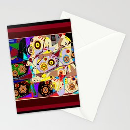 A Steampunk Automaton Gears and Cogs Stationery Cards