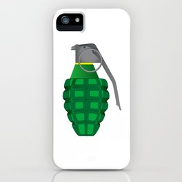 Hand Grenade iPhone Case