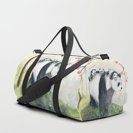 Panda family Duffle Bag