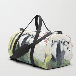 Panda family Duffle Bag