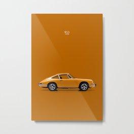 The 1968 911 Metal Print