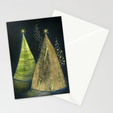 Chritmas Trees Stationery Cards
