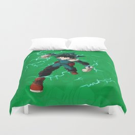 Deku - One for all Duvet Cover