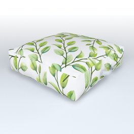 Branches and Leaves Outdoor Floor Cushion