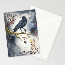 Heart Strings & Raven Wings Stationery Cards