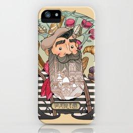 Tribute to Paris iPhone Case