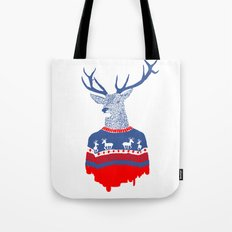 Ugly winter pulover Tote Bag