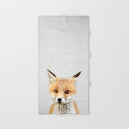 Baby Fox - Colorful Hand & Bath Towel