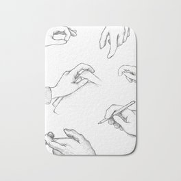 Get to know it by hand Bath Mat
