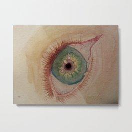 Red Eye Metal Print