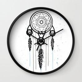 Dreamcatcher [Watercolor] Wall Clock