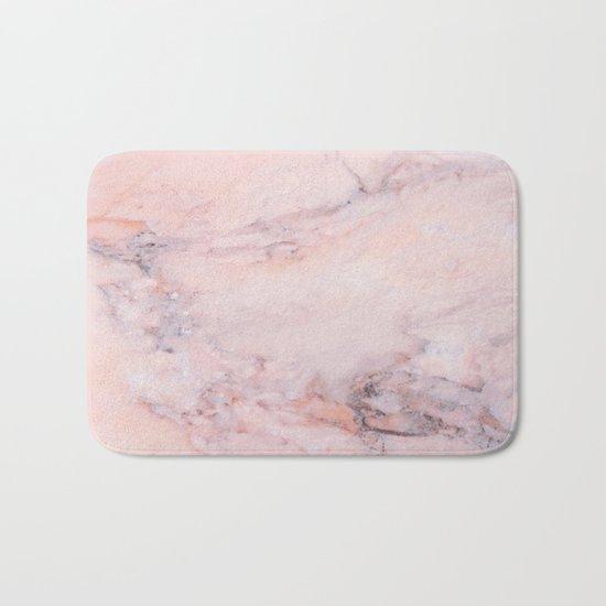 Blush Marble Bath Mat
