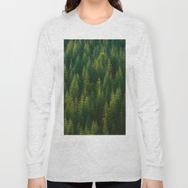 The Green Forest (Color) Long Sleeve T-shirt