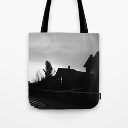 Silhouetted Stillness Tote Bag